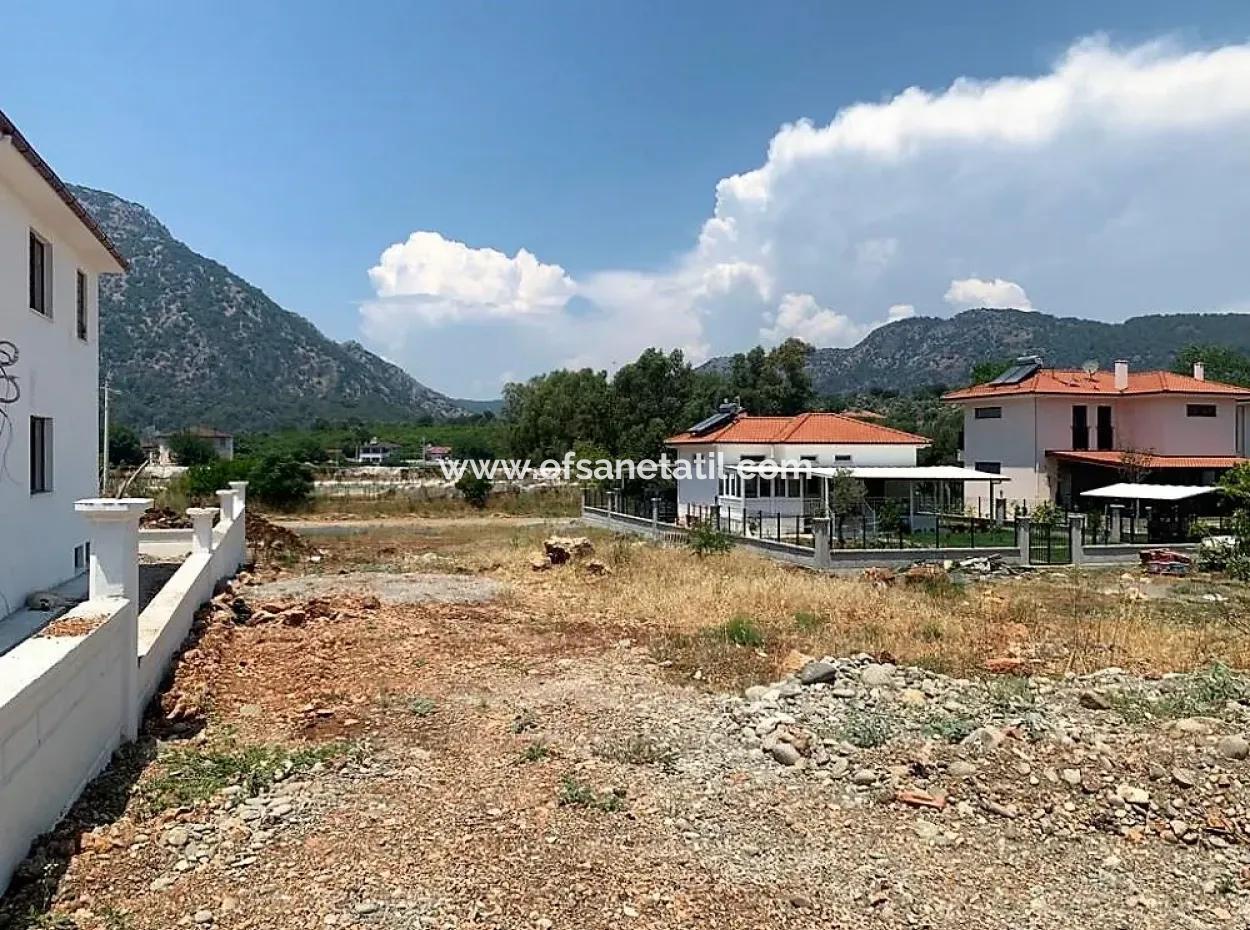 Muğla Ortaca Mergenlide 417 M2 İmarlı Projesi Hazır Arsa Satılık