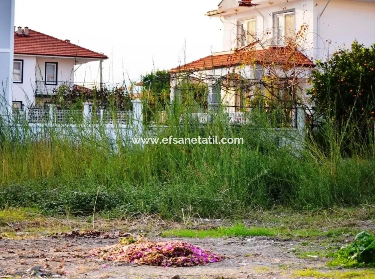 Dalaman Da Satılık Kelepir İmarlı Villa Arsası