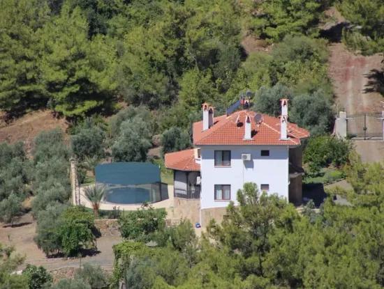 Köyceğiz Ekincik Te Deniz Manzaralı Villa Satılık